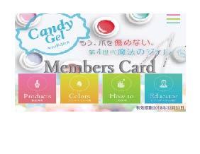 Candyメンバーカードai
