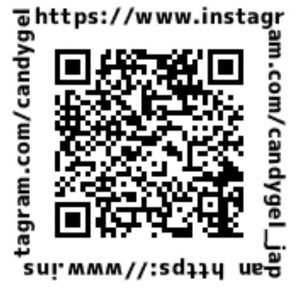 QRコード Instagram CandyGel